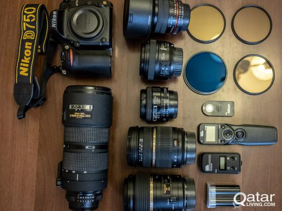 Nikon D750 FX Complete Gear (Re-priced)