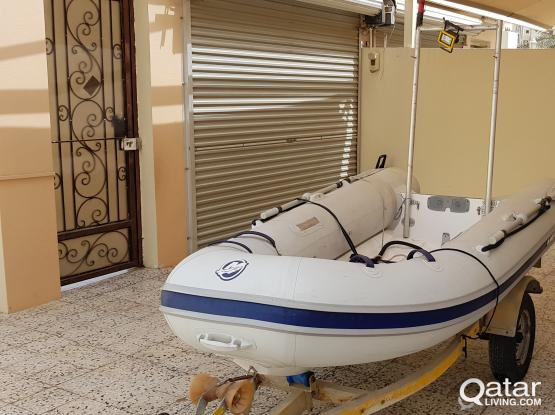 MERCURY INFLATABLE BOAT