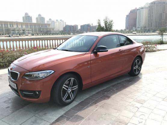 BMW 2-series 220 i 2015
