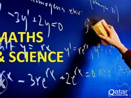 MATHEMATICS and SCIENCE tution for Grade 1 to 10