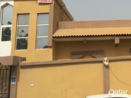spacious 3 bedroom stand alone villa for rent in wakrah, family or executives.