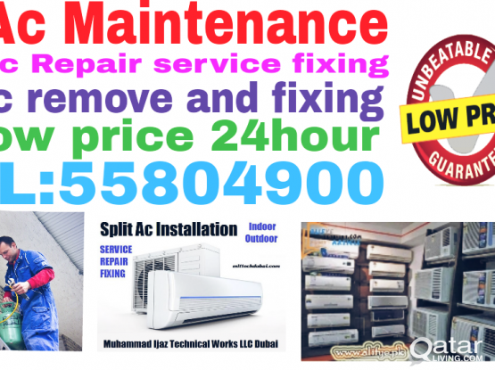 Ac sale and installation Ac repair services call:55804900