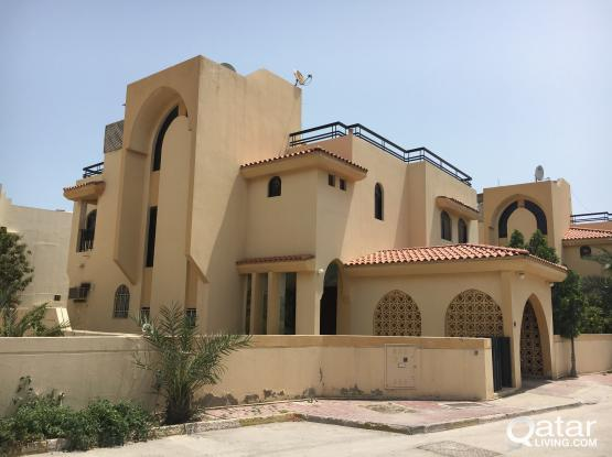 Direct Owner - 5 BEDROOMS VILLA WITH ACs & CURTAIN FOR RENT AT OLD AIRPORT AREA (Behind Ka