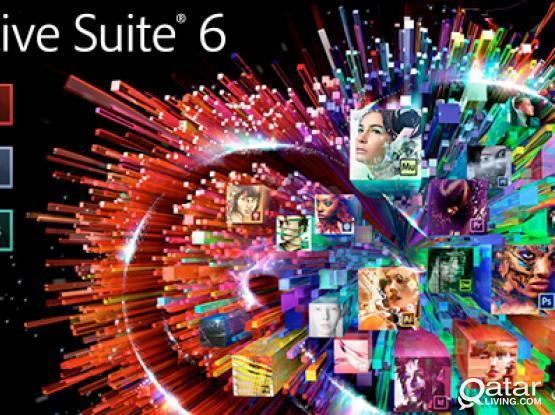 genuine adobe design and web premium CS6 license for windows and mac for sale