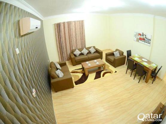 Free WiFi ! Clean 2 BHK Accommodation ! Behind Doha Bank- Old Airport !