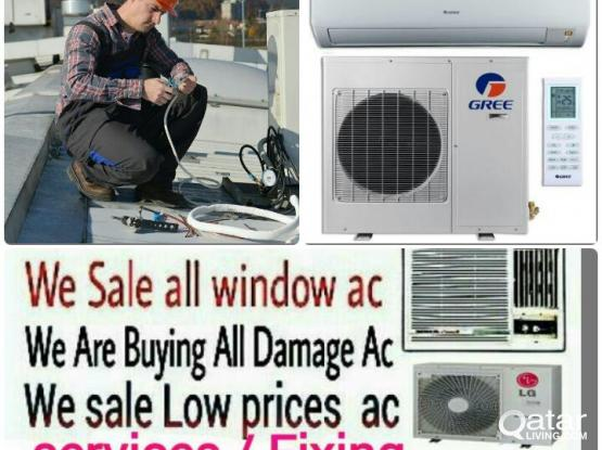 Good a/c for sell split & window & services low price plz call 77346100 whatsapp