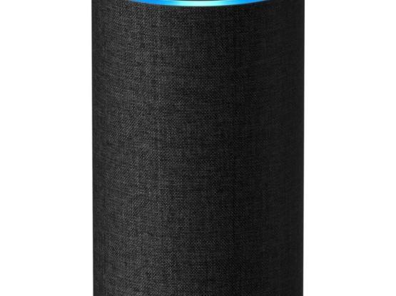 Amazon Echo (2nd Generation) - Smart speaker with Alexa - Charcoal Fabric - Brand New - Sealed