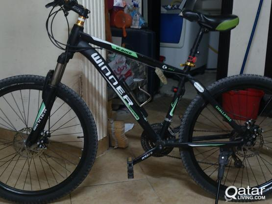 """Vlra WINNER Mountain bike 26"""" 1year used new tire 26x2.10 rear and front"""