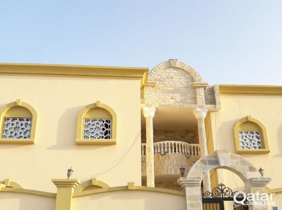 Brand New 1BHK Villa Apartment in Ain Khalid Near 01Mall Mega Mart