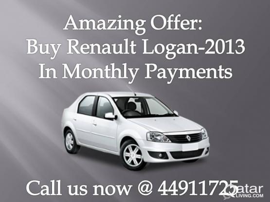 Renault LOGAN-2013 for spot sale