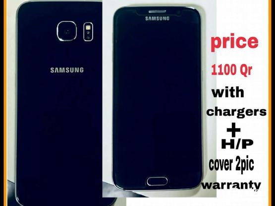 Samsung Galaxy S6 in great condition ,no dents or scratches,still under warranty .Price sl