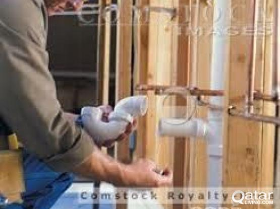 plumbing and electrical maintenance work