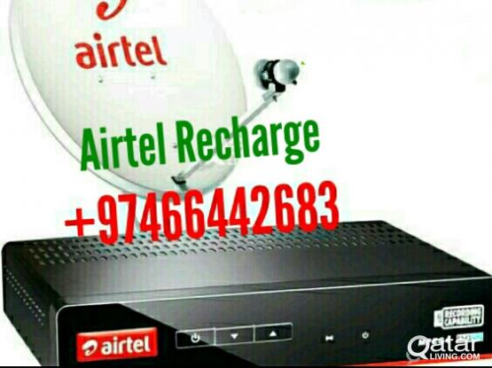 Airtel Satellite Dish Sale Install And Shifting+97466442683