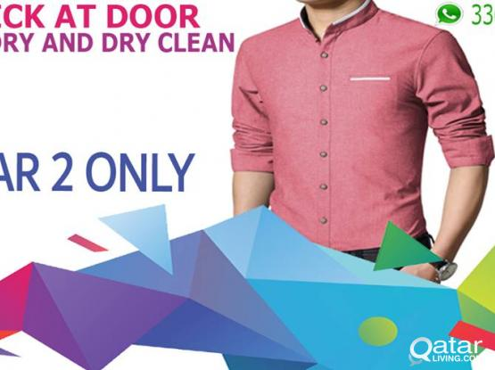 laundry services in qatar - QAR 2/-