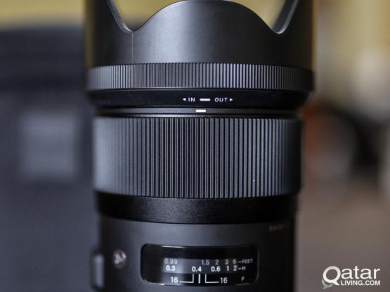 (Repriced) Like New Sigma 35mm f/1.4 DG HSM Art Lens for Nikon