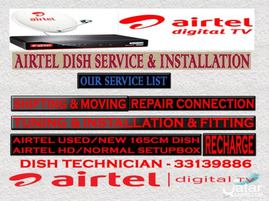 Airtel A-Z Service Installation Shifting
