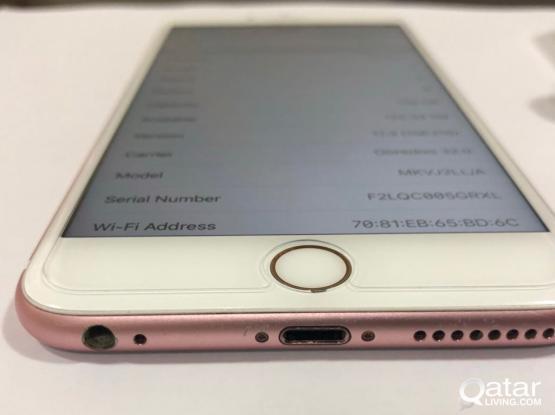 iPhone 6s pls 128 Rose