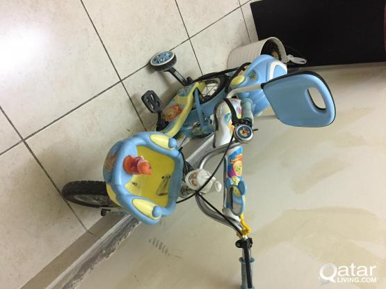 KIDS CYCLE FOR SALE- VERY GOOD CONDITION
