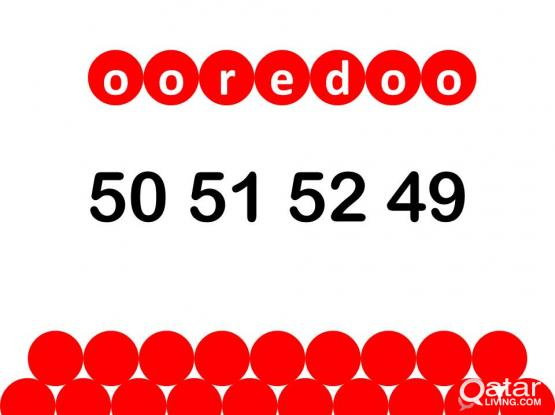 ooredoo special number 50 51 52 49