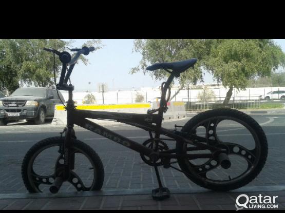 Ninja Rim Rambo Blackcat BMX Cycle