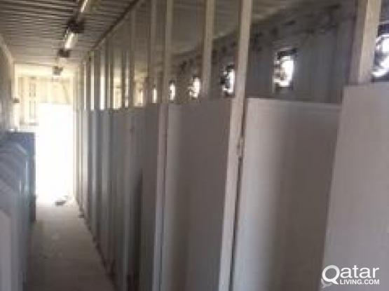 Toilet Unit, Container Type - 40ft