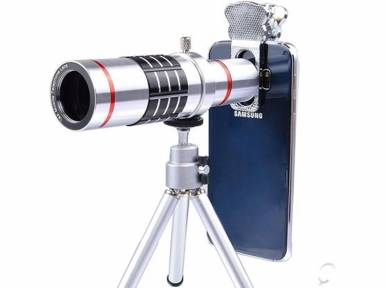 18X Optical Telescope Lens Telephoto Zoom Lens with tripod and Bluetooth shutter for remot