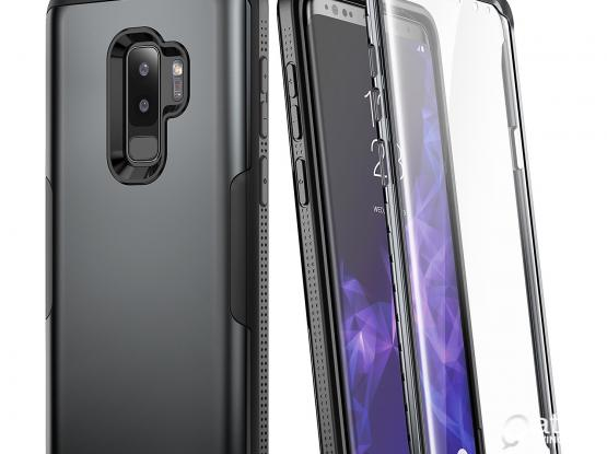 Galaxy S9+ Plus Case+Built-in Screen Protector
