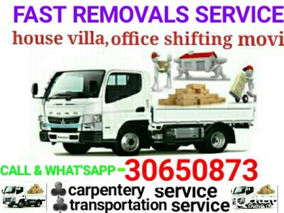 Shifting Moving Carpenter Labour big small track Service** Call***30650873