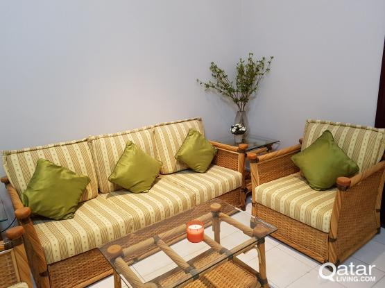 Rattan set for sale