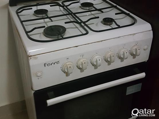 Ferre italian brand cooking range with grill