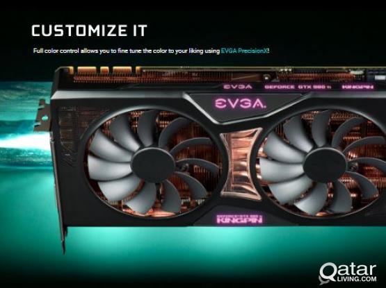 EVGA GeForce GTX 980 Ti K|NGP|N (6GB) 2816 CUDA Cores