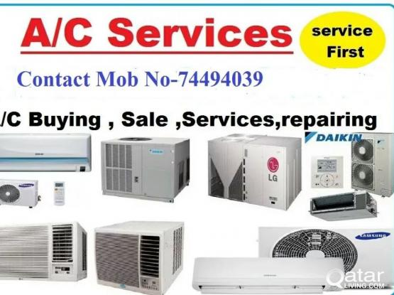 Used Ac Selling, buying, installation and maintenance. Call Us:74494039