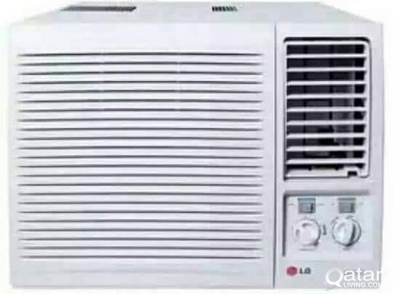 "WlNDOW LG AC FOR SALE GOOD QUALITY ME.70697610."""