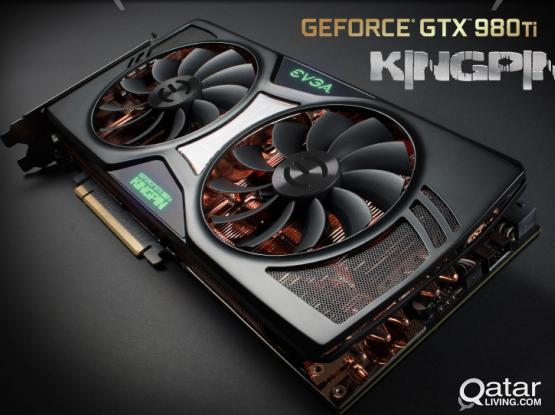 EVGA Geforce 980Ti 6GB | KINGPIN EDITION