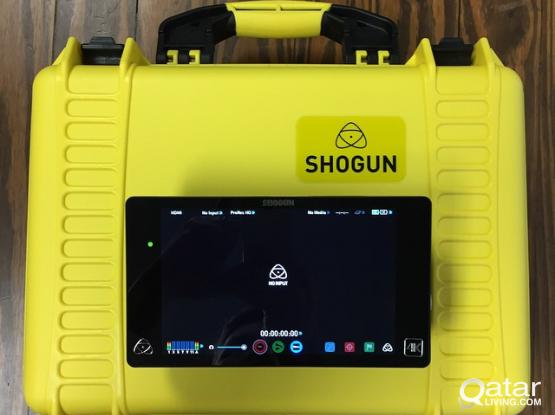Atomos Shogun + Case + 480GB SSD + Shape Rig Cage