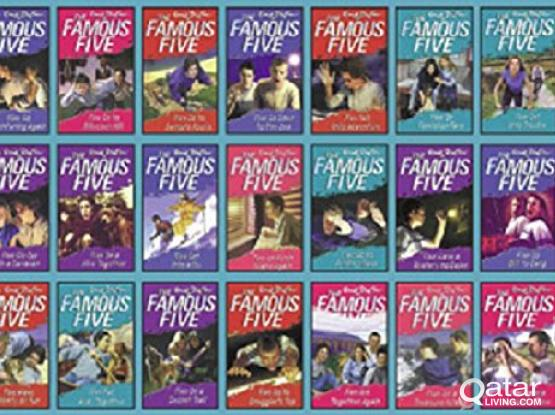 Famous Five and Secret Seven Books Sets