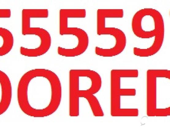 Fancy Number for Sale: 5555 9710 with 55 QR package