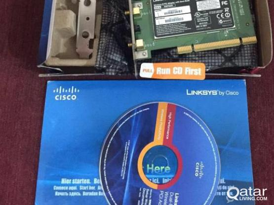 Cisco dual band wireless PCI Adapter