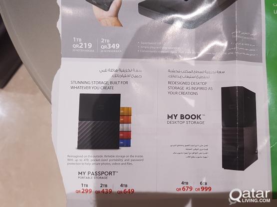 External Hard Disk Drives 4, 5 and 6 TB + NAS | Qatar Living