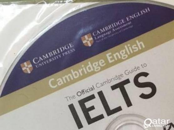 IELTS preparation book with cd