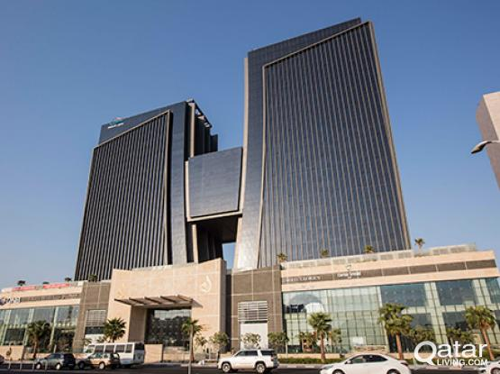 Rent your private office space in Doha, Shoumouk Towers