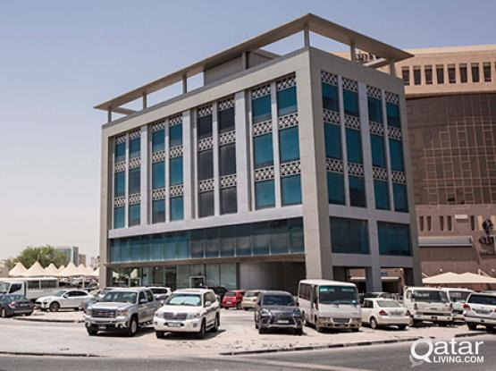 Rent your private office space in Doha, Bank Street