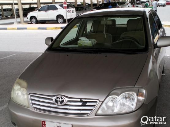 Toyota Corolla XLI 2004