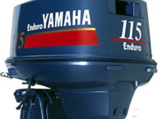 Yamaha 115 Enduro Engine 2 stroke