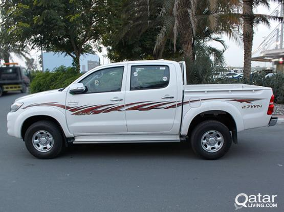 Toyota Hilux Pickup Available For Rent !! Call Us Now : 44663933 & 44152020