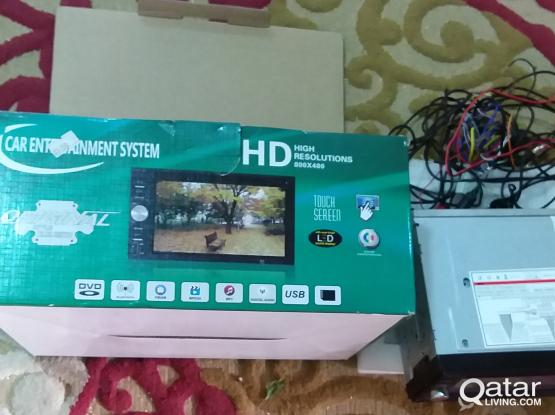 Car HD camera and DVD player for Sale | Qatar Living