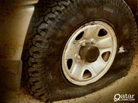 Flat Tire Assistance  Call 30031241