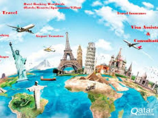 VISA / HOTEL/ RESERVATION SERVICE FOR USA/EUROPE/FAREAST