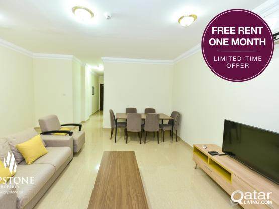 FREE 1 MONTH RENT! NO COMMISSION! *