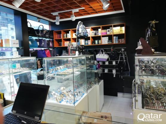 Well Running Watch & Perfume Shop for Sale